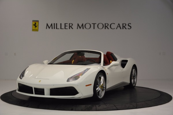 Used 2017 Ferrari 488 Spider for sale Sold at Maserati of Greenwich in Greenwich CT 06830 1