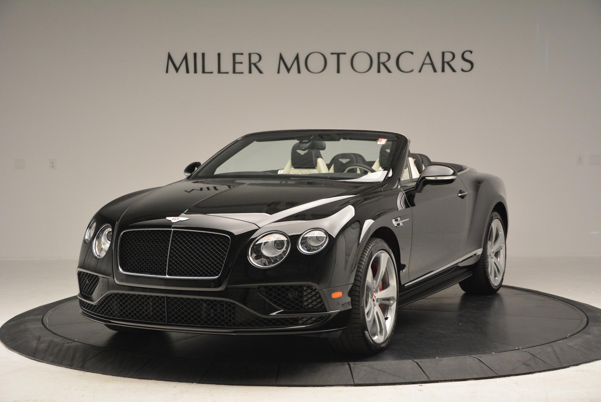 New 2016 Bentley Continental GT V8 S Convertible for sale Sold at Maserati of Greenwich in Greenwich CT 06830 1