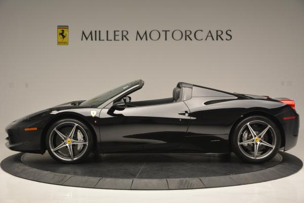 Used 2012 Ferrari 458 Spider for sale Sold at Maserati of Greenwich in Greenwich CT 06830 3