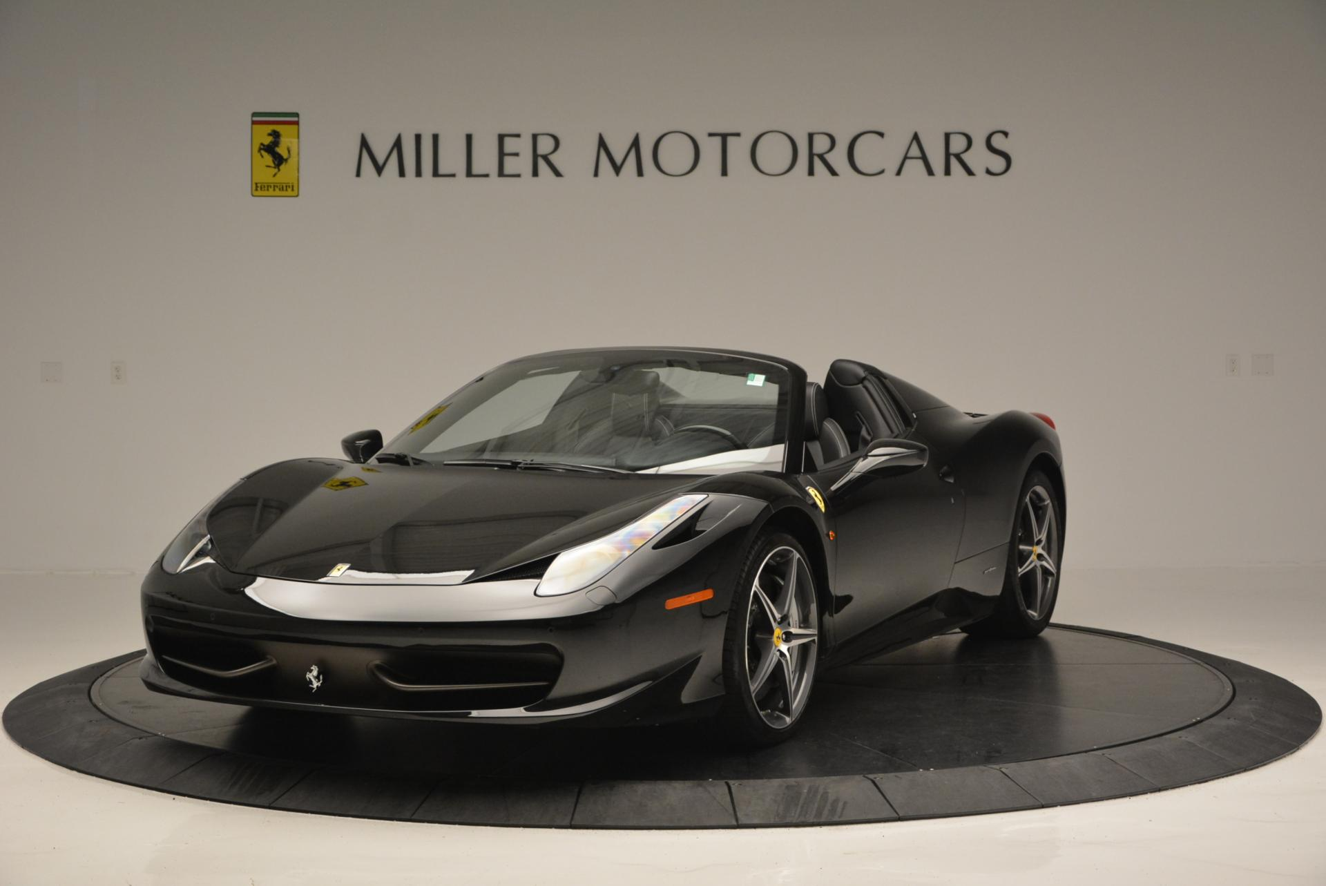 Used 2012 Ferrari 458 Spider for sale Sold at Maserati of Greenwich in Greenwich CT 06830 1