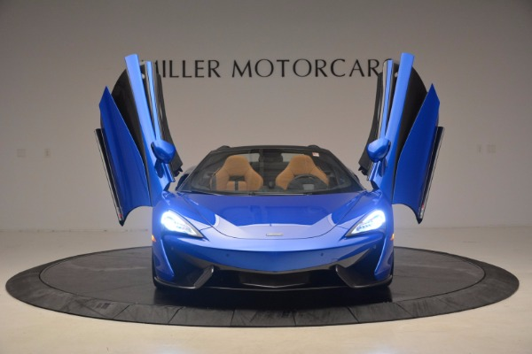 Used 2018 McLaren 570S Spider for sale Sold at Maserati of Greenwich in Greenwich CT 06830 13