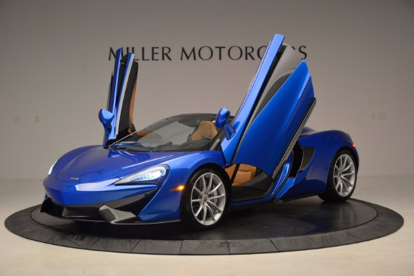 Used 2018 McLaren 570S Spider for sale Sold at Maserati of Greenwich in Greenwich CT 06830 14