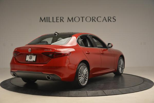 New 2017 Alfa Romeo Giulia Ti Q4 for sale Sold at Maserati of Greenwich in Greenwich CT 06830 7