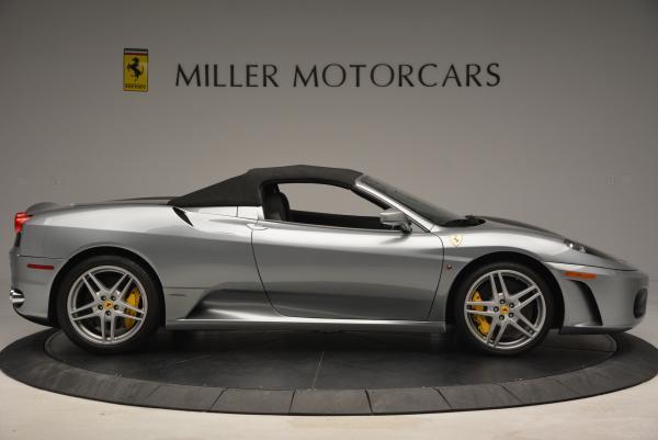 Used 2009 Ferrari F430 Spider F1 for sale Sold at Maserati of Greenwich in Greenwich CT 06830 21