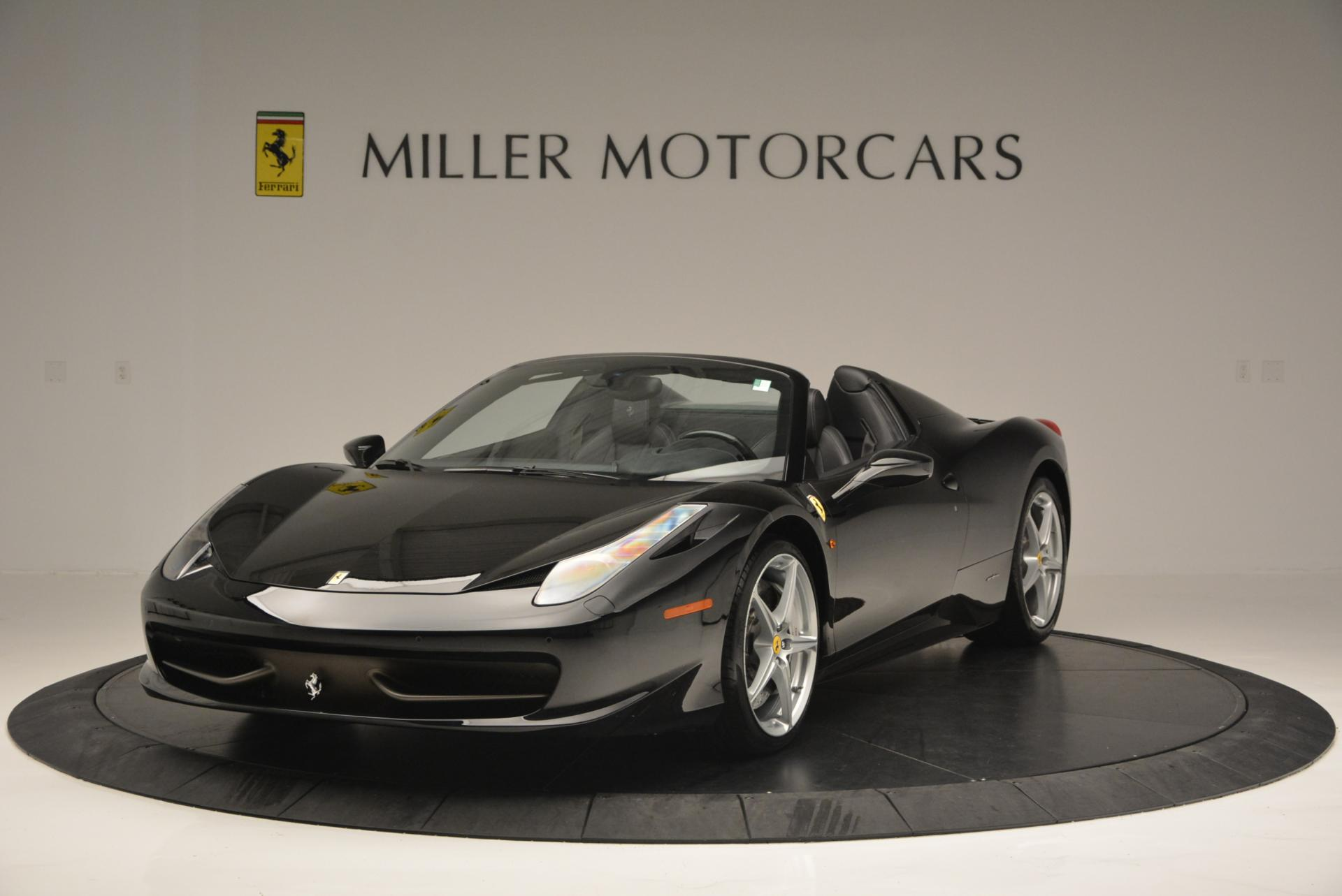 Used 2013 Ferrari 458 Spider for sale Sold at Maserati of Greenwich in Greenwich CT 06830 1