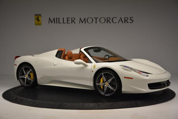Used 2012 Ferrari 458 Spider for sale Sold at Maserati of Greenwich in Greenwich CT 06830 10