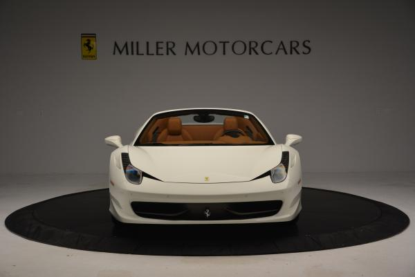 Used 2012 Ferrari 458 Spider for sale Sold at Maserati of Greenwich in Greenwich CT 06830 12