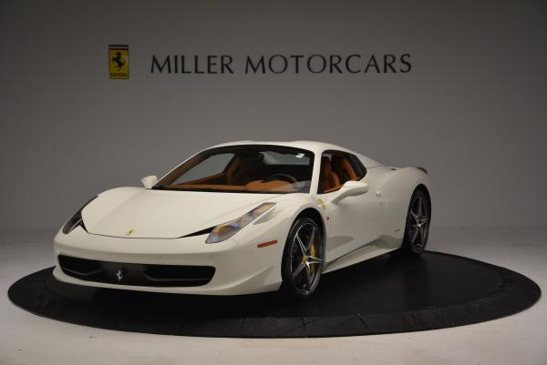 Used 2012 Ferrari 458 Spider for sale Sold at Maserati of Greenwich in Greenwich CT 06830 13