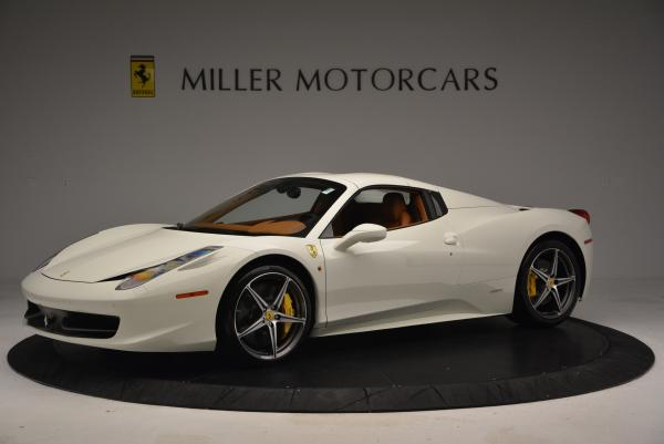 Used 2012 Ferrari 458 Spider for sale Sold at Maserati of Greenwich in Greenwich CT 06830 14