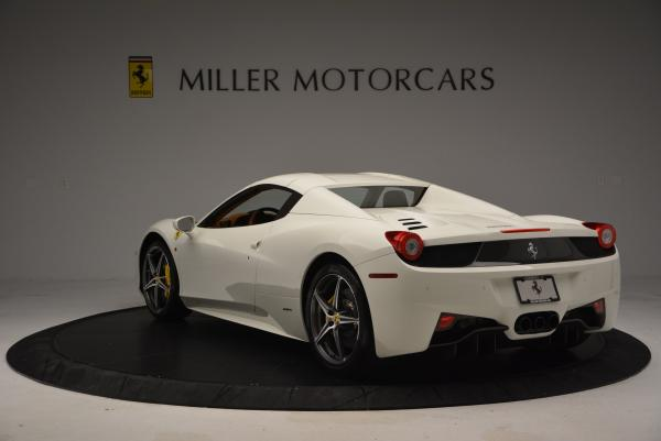 Used 2012 Ferrari 458 Spider for sale Sold at Maserati of Greenwich in Greenwich CT 06830 17
