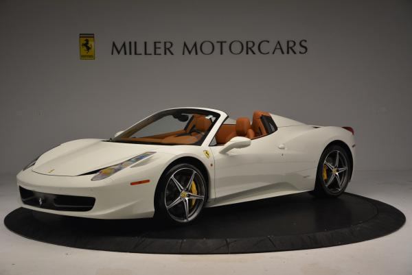 Used 2012 Ferrari 458 Spider for sale Sold at Maserati of Greenwich in Greenwich CT 06830 2