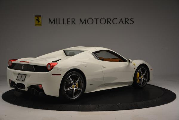 Used 2012 Ferrari 458 Spider for sale Sold at Maserati of Greenwich in Greenwich CT 06830 20