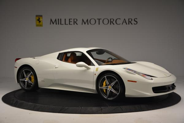 Used 2012 Ferrari 458 Spider for sale Sold at Maserati of Greenwich in Greenwich CT 06830 22