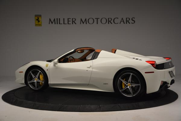 Used 2012 Ferrari 458 Spider for sale Sold at Maserati of Greenwich in Greenwich CT 06830 4