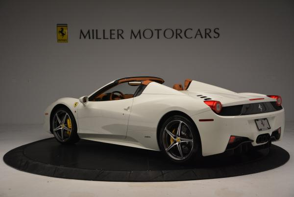 Used 2012 Ferrari 458 Spider for sale Sold at Maserati of Greenwich in Greenwich CT 06830 5