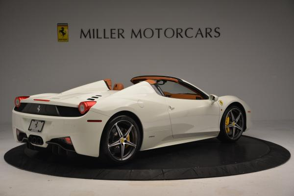 Used 2012 Ferrari 458 Spider for sale Sold at Maserati of Greenwich in Greenwich CT 06830 8