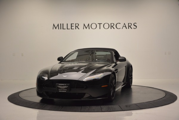 Used 2015 Aston Martin V12 Vantage S Roadster for sale Sold at Maserati of Greenwich in Greenwich CT 06830 13