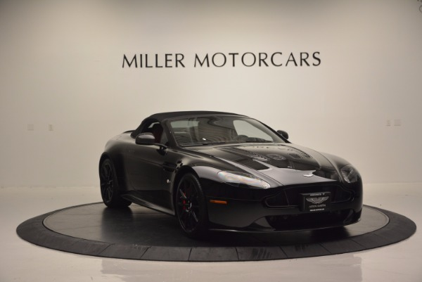 Used 2015 Aston Martin V12 Vantage S Roadster for sale Sold at Maserati of Greenwich in Greenwich CT 06830 17