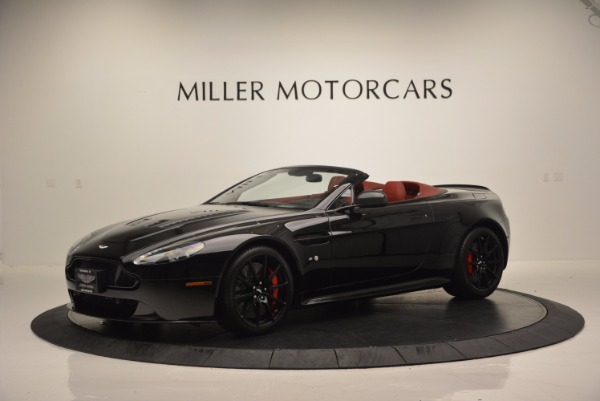 Used 2015 Aston Martin V12 Vantage S Roadster for sale Sold at Maserati of Greenwich in Greenwich CT 06830 2
