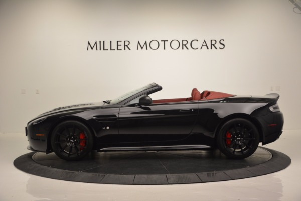 Used 2015 Aston Martin V12 Vantage S Roadster for sale Sold at Maserati of Greenwich in Greenwich CT 06830 3