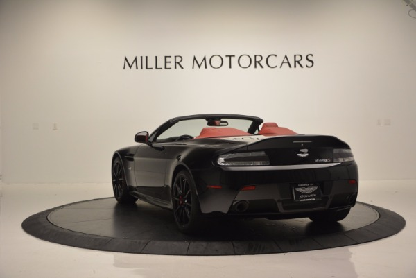 Used 2015 Aston Martin V12 Vantage S Roadster for sale Sold at Maserati of Greenwich in Greenwich CT 06830 5
