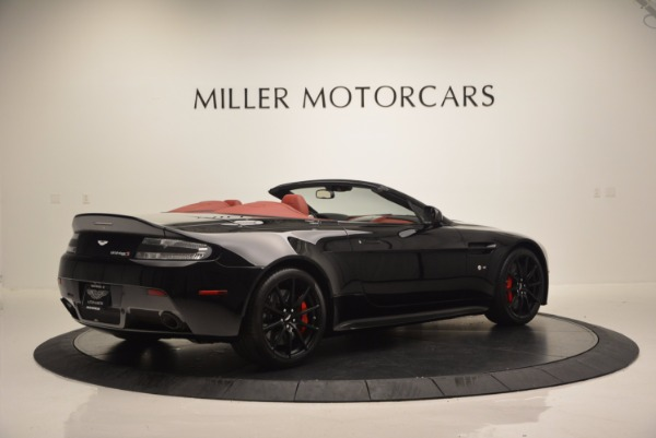 Used 2015 Aston Martin V12 Vantage S Roadster for sale Sold at Maserati of Greenwich in Greenwich CT 06830 8