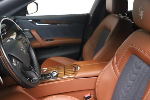 Used 2017 Maserati Quattroporte SQ4 GranLusso/ Zegna for sale $62,900 at Maserati of Greenwich in Greenwich CT 06830 14