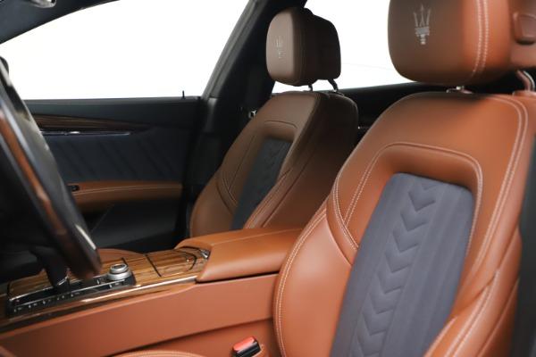 Used 2017 Maserati Quattroporte SQ4 GranLusso/ Zegna for sale $62,900 at Maserati of Greenwich in Greenwich CT 06830 15