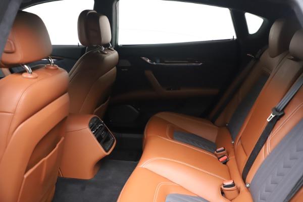 Used 2017 Maserati Quattroporte SQ4 GranLusso/ Zegna for sale $62,900 at Maserati of Greenwich in Greenwich CT 06830 18