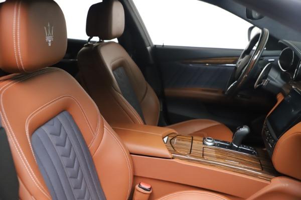 Used 2017 Maserati Quattroporte SQ4 GranLusso/ Zegna for sale $62,900 at Maserati of Greenwich in Greenwich CT 06830 20
