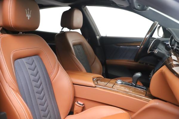 Used 2017 Maserati Quattroporte SQ4 GranLusso/ Zegna for sale $62,900 at Maserati of Greenwich in Greenwich CT 06830 21