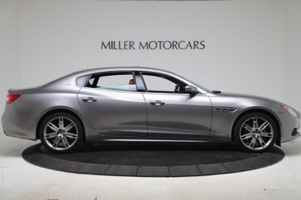 Used 2017 Maserati Quattroporte SQ4 GranLusso/ Zegna for sale $62,900 at Maserati of Greenwich in Greenwich CT 06830 9