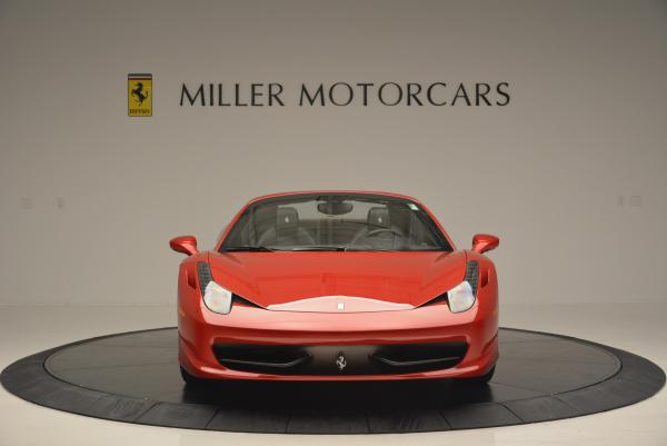 Used 2013 Ferrari 458 Spider for sale Sold at Maserati of Greenwich in Greenwich CT 06830 12