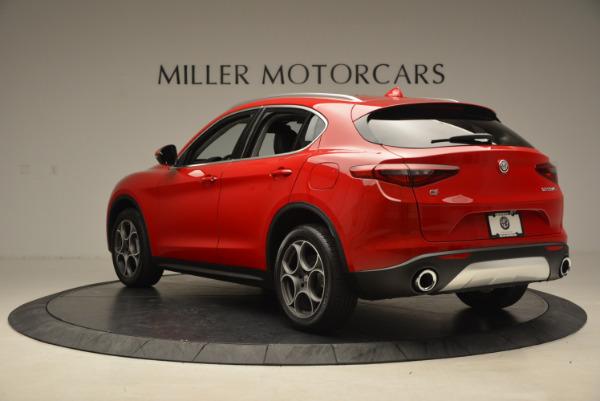 New 2018 Alfa Romeo Stelvio Q4 for sale Sold at Maserati of Greenwich in Greenwich CT 06830 5