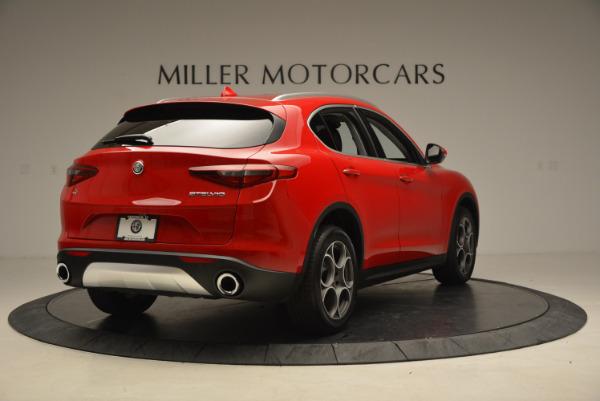 New 2018 Alfa Romeo Stelvio Q4 for sale Sold at Maserati of Greenwich in Greenwich CT 06830 7