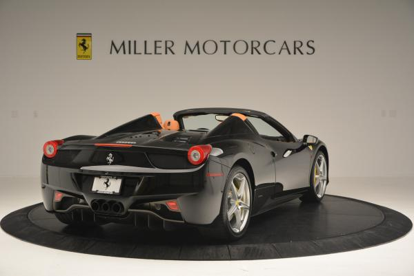 Used 2015 Ferrari 458 Spider for sale Sold at Maserati of Greenwich in Greenwich CT 06830 7