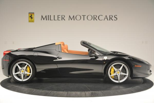 Used 2015 Ferrari 458 Spider for sale Sold at Maserati of Greenwich in Greenwich CT 06830 9