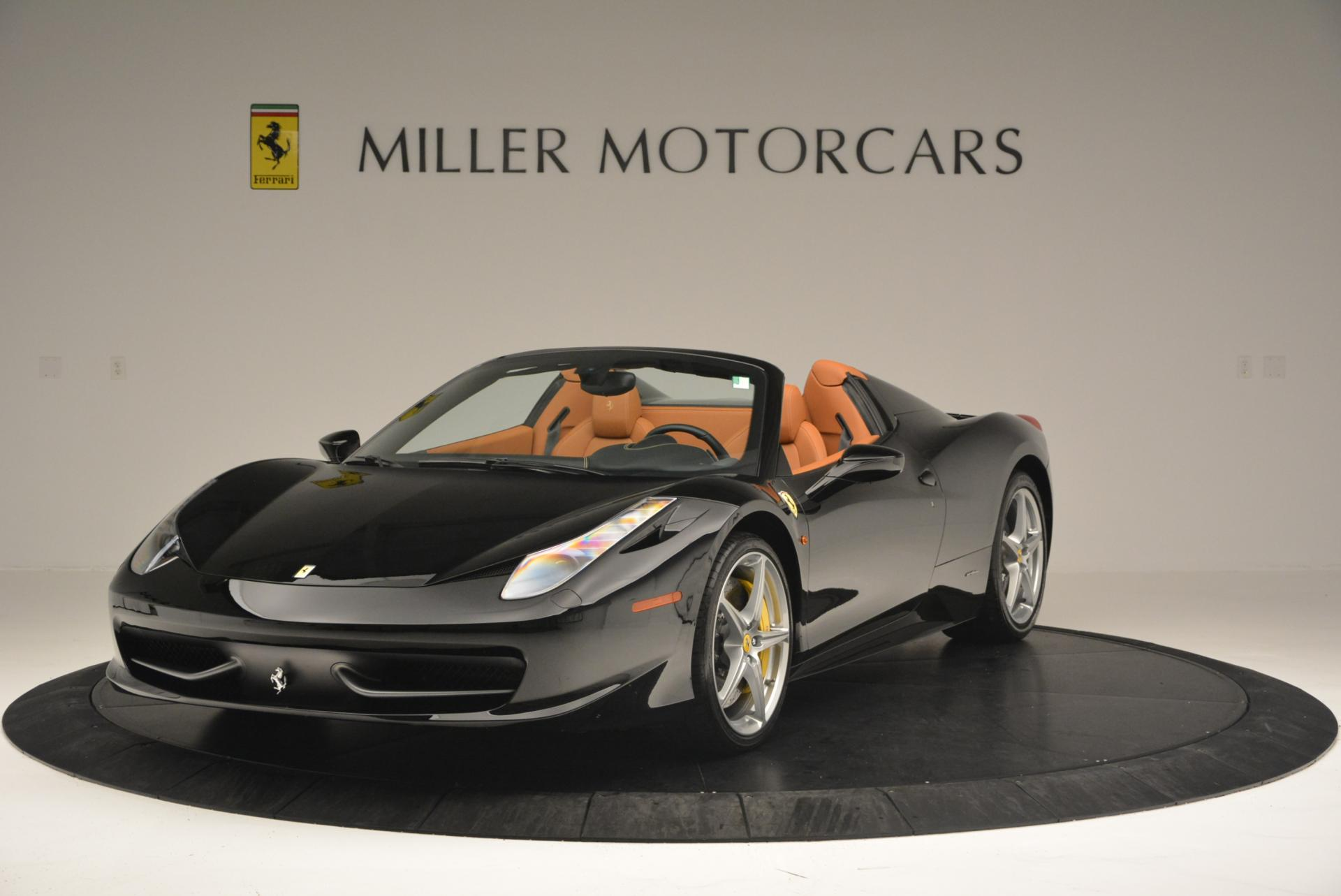 Used 2015 Ferrari 458 Spider for sale Sold at Maserati of Greenwich in Greenwich CT 06830 1