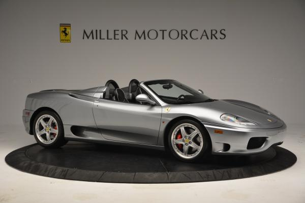 Used 2004 Ferrari 360 Spider 6-Speed Manual for sale Sold at Maserati of Greenwich in Greenwich CT 06830 10