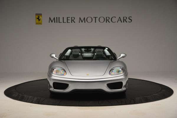 Used 2004 Ferrari 360 Spider 6-Speed Manual for sale Sold at Maserati of Greenwich in Greenwich CT 06830 12