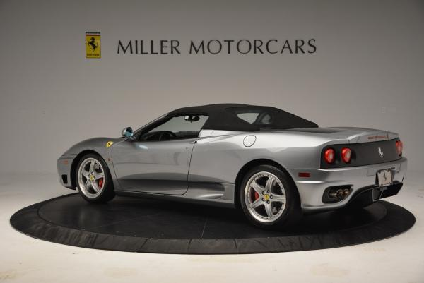 Used 2004 Ferrari 360 Spider 6-Speed Manual for sale Sold at Maserati of Greenwich in Greenwich CT 06830 16