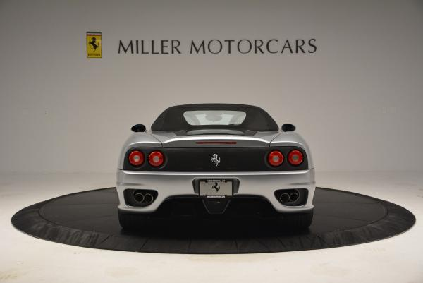 Used 2004 Ferrari 360 Spider 6-Speed Manual for sale Sold at Maserati of Greenwich in Greenwich CT 06830 18