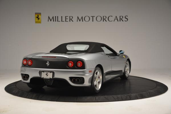 Used 2004 Ferrari 360 Spider 6-Speed Manual for sale Sold at Maserati of Greenwich in Greenwich CT 06830 19