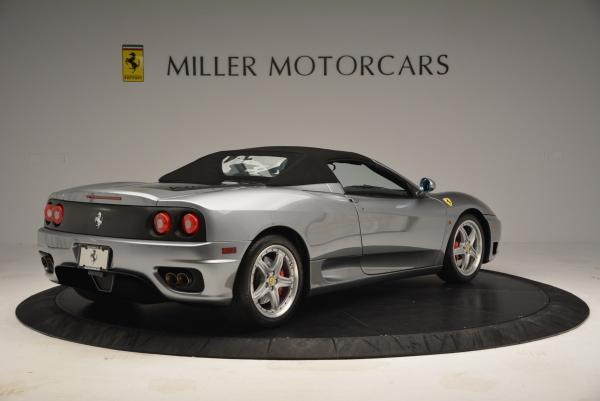 Used 2004 Ferrari 360 Spider 6-Speed Manual for sale Sold at Maserati of Greenwich in Greenwich CT 06830 20