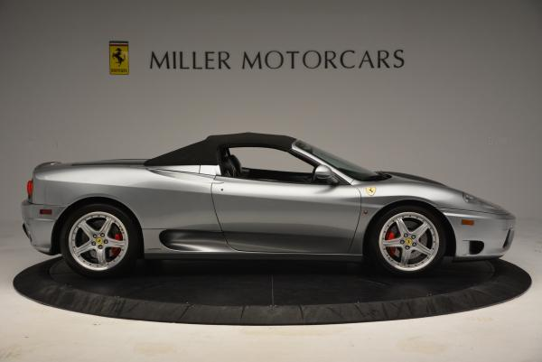 Used 2004 Ferrari 360 Spider 6-Speed Manual for sale Sold at Maserati of Greenwich in Greenwich CT 06830 21