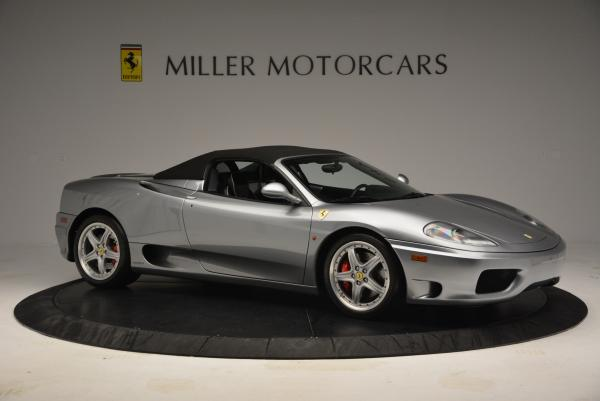 Used 2004 Ferrari 360 Spider 6-Speed Manual for sale Sold at Maserati of Greenwich in Greenwich CT 06830 22