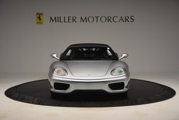 Used 2004 Ferrari 360 Spider 6-Speed Manual for sale Sold at Maserati of Greenwich in Greenwich CT 06830 24