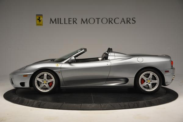 Used 2004 Ferrari 360 Spider 6-Speed Manual for sale Sold at Maserati of Greenwich in Greenwich CT 06830 3