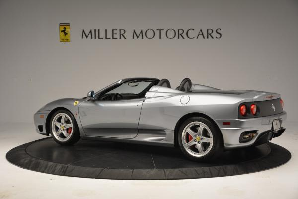 Used 2004 Ferrari 360 Spider 6-Speed Manual for sale Sold at Maserati of Greenwich in Greenwich CT 06830 4