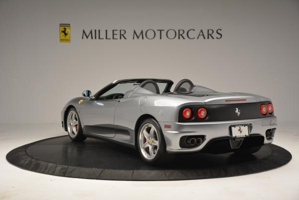 Used 2004 Ferrari 360 Spider 6-Speed Manual for sale Sold at Maserati of Greenwich in Greenwich CT 06830 5